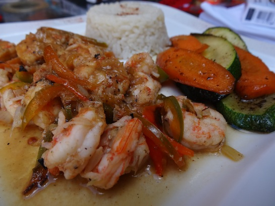 Shrimp lunch special