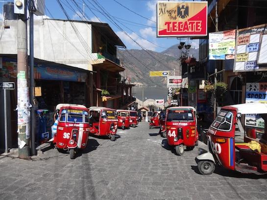 Down town San Pedro near the main dock