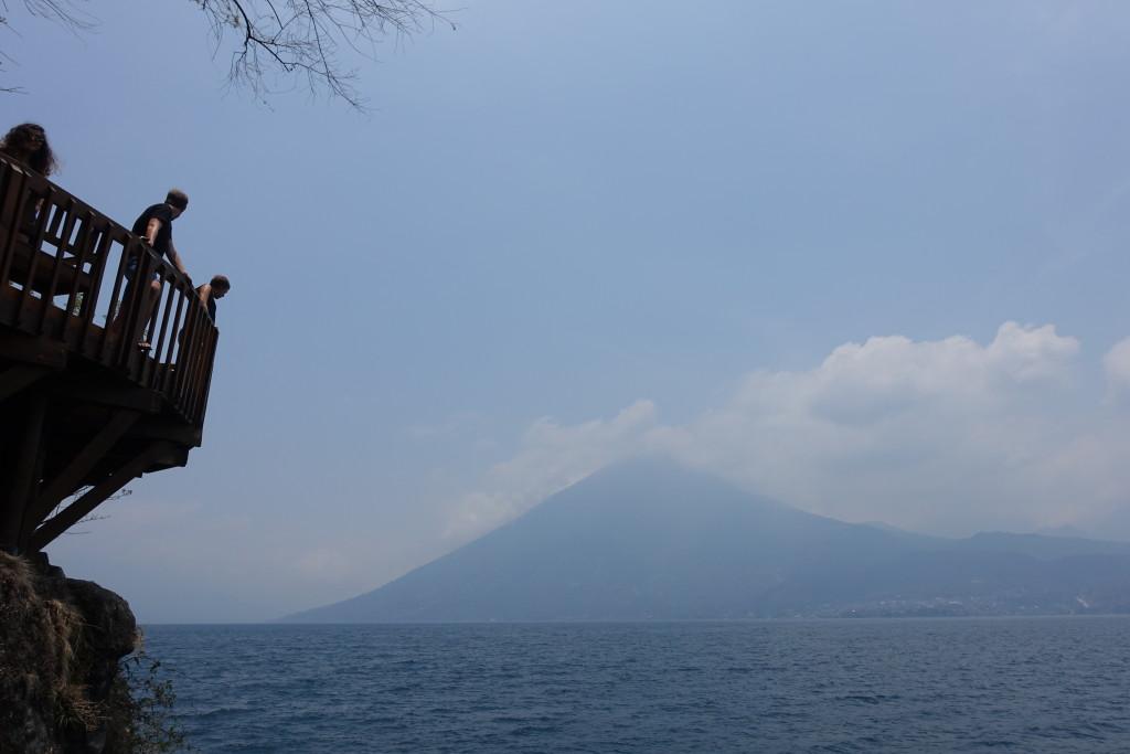 the jump in san marcos lake atitlan