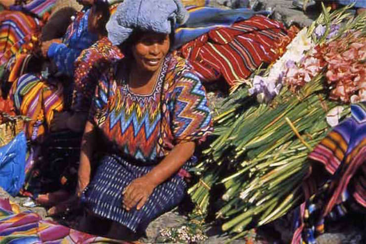 Maya-Woman-Artisan-at-the-Market-Lake-Atitlan-Guatemalan