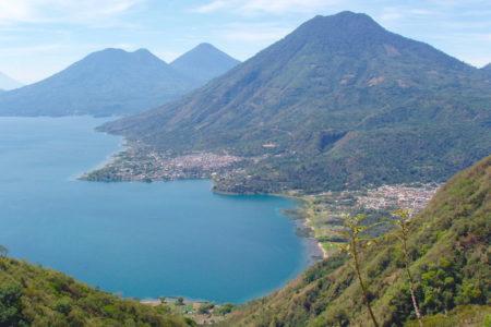 Aerial-View-San-Juan-Lake-Atitlan-Guatemala
