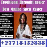 Traditional Healer +27718452838 _Witchcraft/Black Magic | Voodoo Spell to Return Lost Lovers Voodoo
