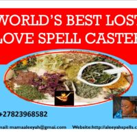 The World'sNO.1Black Magic Expert with Powerful LoveSpells +27823968582